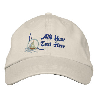 Sailboats and Stars Baseball Cap