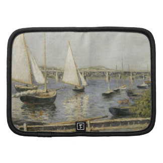 Sailboats at Argenteuil by Gustave Caillebotte Planners