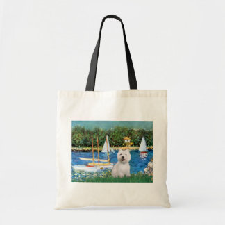 Sailboats at Argenteuil - Westie 2 Bags