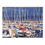 Sailboats at rest postcards