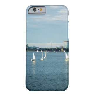 Sailboats in a river, Charles River, Boston, 2 Barely There iPhone 6 Case
