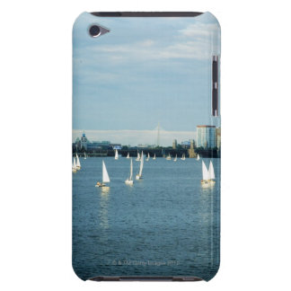 Sailboats in a river, Charles River, Boston, 2 Barely There iPod Cases