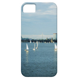 Sailboats in a river, Charles River, Boston, 2 iPhone 5 Case