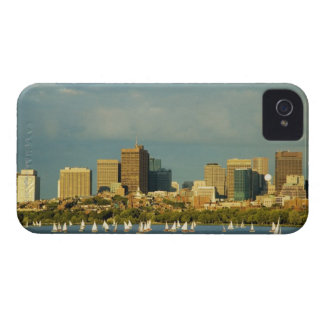 Sailboats in a river, Charles River, Boston, iPhone 4 Case-Mate Cases