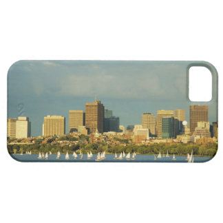 Sailboats in a river, Charles River, Boston, iPhone 5 Cases