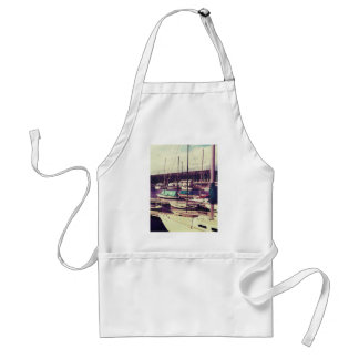 Sailboats In Dock Aprons