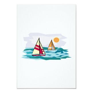 Sailboats Invites