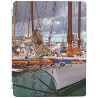 Sailboats Morred At Key West iPad Cover