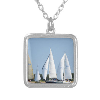 Sailboats on 4th of July Pendant
