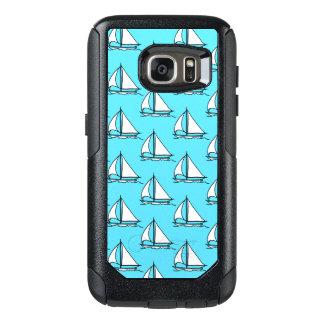 Sailboats On Blue Sea Pattern OtterBox Samsung Galaxy S7 Case