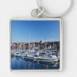 Sailboats on Still Water Key Chains