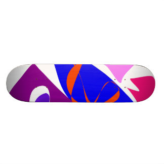 Sailboats on the Lake Skateboards