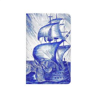 Sailboats Pocket Notebook Journals