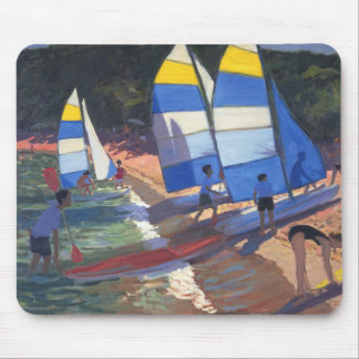 Sailboats South of France 1995 Mouse Mat