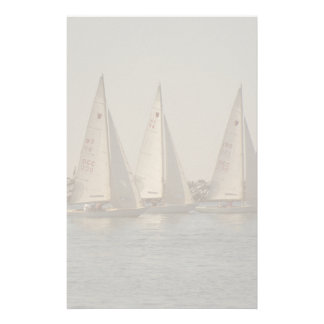 Sailboats Stationery