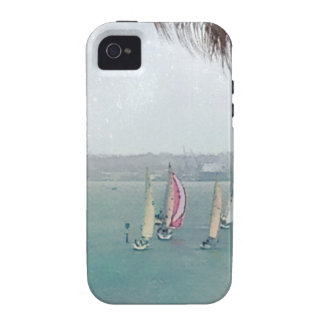 sailboats vibe iPhone 4 cover