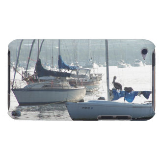Sailbotas Pelican Birds Wildlife Boat Sailing Sea Barely There iPod Covers