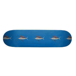 Sailfish Illustration Skateboard