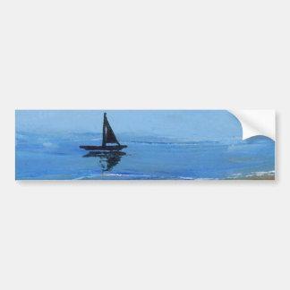 Sailing a Gentle Breeze - Ships of the Imagination Bumper Sticker
