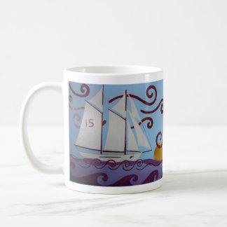 Sailing Adventures Basic White Mug
