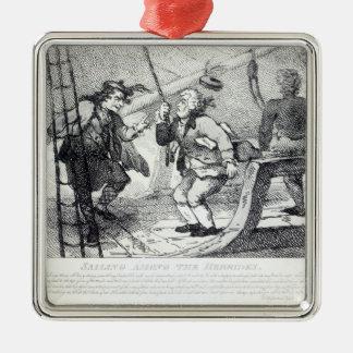 Sailing Among the Hebrides Christmas Ornament