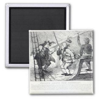 Sailing Among the Hebrides Magnet