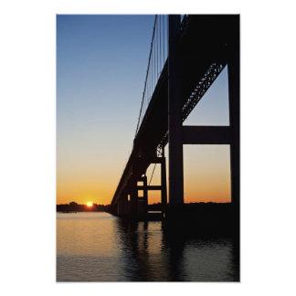 Sailing and leaving Newport Rhode Island Photographic Print