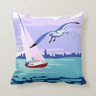 Sailing Artwork Cushion