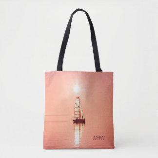 Sailing Away custom monogram bags