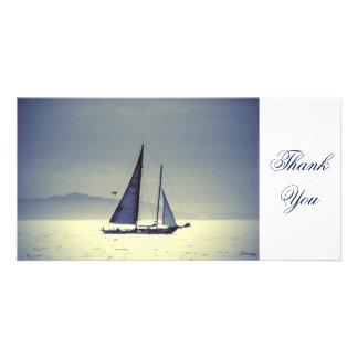 Sailing Away Photo Card
