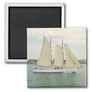 Sailing Away Sailboat Magnet