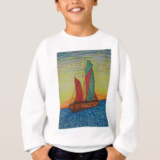 sailing away sweatshirt