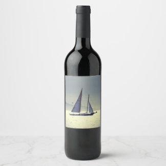 Sailing Away Wine Label