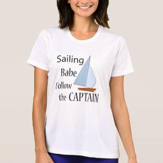 Sailing Babe Captain T-Shirt