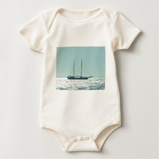 Sailing Barge In The Sun Baby Bodysuit