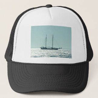 Sailing Barge In The Sun Trucker Hat