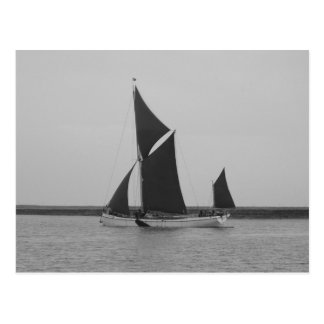 Sailing Barge Reminder Postcard