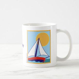 Sailing. Basic White Mug