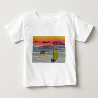 Sailing before the storm baby T-Shirt