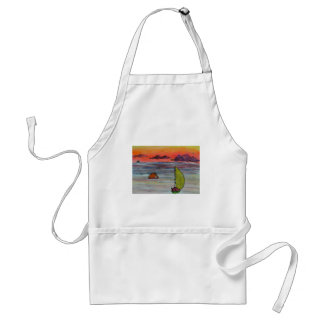 Sailing before the storm standard apron