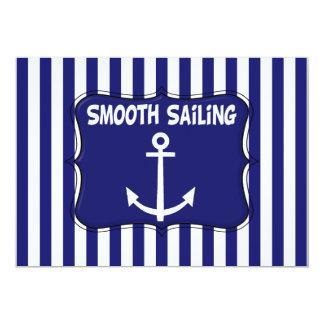 Sailing Birthday Invitation