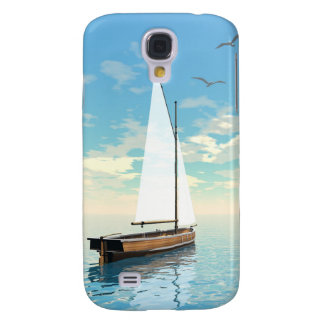 Sailing boat - 3D render Galaxy S4 Case