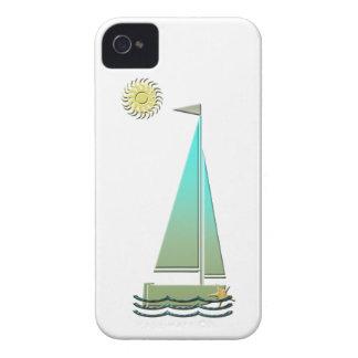 Sailing Boat Art Electronic Case Case-Mate iPhone 4 Case