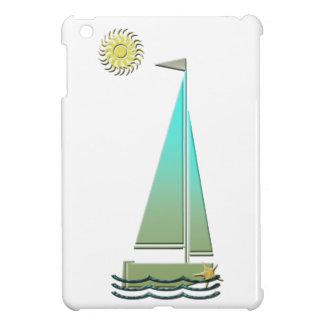 Sailing Boat Art Electronic Case Case For The iPad Mini