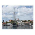 Sailing Boat at Grenada Postcard