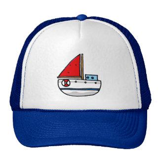 sailing boat mesh hats