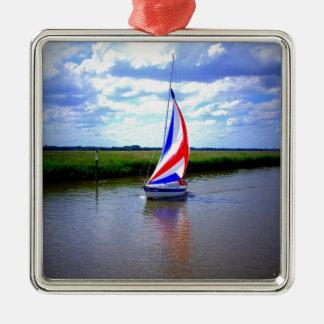 Sailing Boat.JPG Christmas Ornament