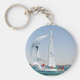 Sailing Boat Key Ring