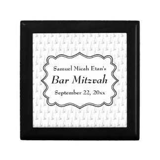 Sailing Boat Nautical Bar Mitzvah Celebration Gift Box