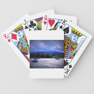 Sailing Boats & a Stormy Sky Bicycle Playing Cards